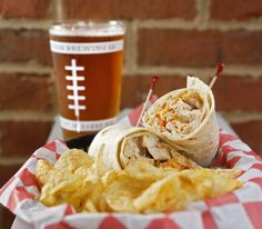 """There's a touch of kitsch at Pigskin Brewing Co., to be sure, but the proprietors pack a few surprises in their sleek Gahanna taproom where the """"sports bar"""" conceit is taken in stride."""
