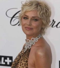 Curly Pixie Hairstyles for Older Women