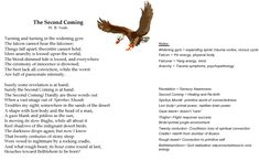 """The Second Coming"" by Yeats......"