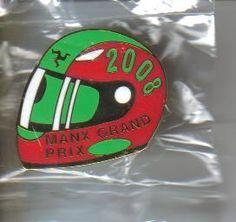 Manx Grand Prix badge 2008