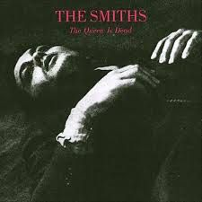 The Smiths - The Queen Is Dead   http://www.amazon.co.uk/Queen-Dead-Smiths/dp/B007F5S1B8/ref=sr_1_2?s=music&ie=UTF8&qid=1389261892&sr=1-2&keywords=the+smiths+the+queen+is+dead