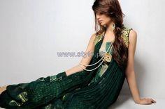 Wajahat Mansoor Formal Wear Dresses 2014 For Summer 5