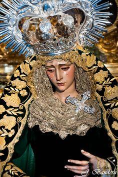 Las Fotografías de Bandera: La Virgen de los Dolores de Huelva
