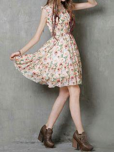 f9ddda76ea7dd Summer Women Boho Style Cotton Linen Fabric Sleeveless Floral Printed  Dresses Vestidos De Fiesta with Belt Mujer Dress