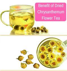 Benefit of dried chrysanthemum flower tea Good Bones, Flower Tea, How To Make Tea, Herbal Tea, For Your Health, Drinking Tea, Dried Flowers, Herbalism