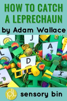 Are you incorporating STEM activities and building leprechaun traps this year? Imagine adding sensory bin activities to the St. Patrick's Day read aloud How to Catch a Leprechaun by Adam Wallace. Co Teaching, Teaching Reading, Teaching Ideas, Phonemic Awareness Activities, Stem Activities, Teaching Materials, Building Materials, Stem Learning, Learning Resources