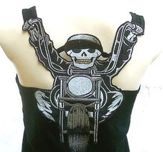i own this and love it wear it under my leather jacket on the harley its badass :)