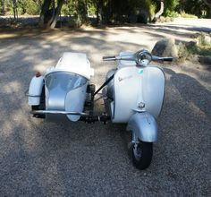 1963 Vespa with Sidecar!!!
