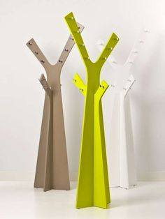Designed by Robert Bronwasser for Cascando, the Tree coat stand is a free standing rack that can accommodate as many as twenty coats. Availa...