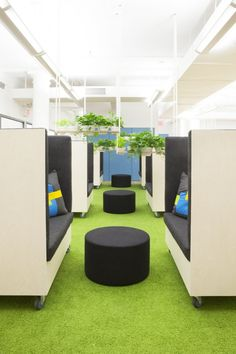 Dani Arps has designed the new offices of data aggregator YipitData and Yipit located in New York City.