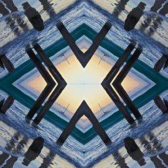 Pattern, ocean sunset by sugarmuser