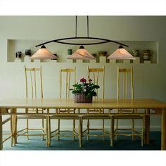 Elysburg 3 Light Island Light In Aged Bronze With Tea Swirl Glass - Homeclick Community