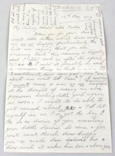 Edward VIII love letter