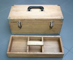 """This instructable embodies the principle of """"portable workstations"""" because a toolbox allows you to work about anywhere by bringing your tools along with..."""