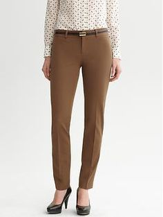 Sloan fit slim ankle pant from Banana Republic