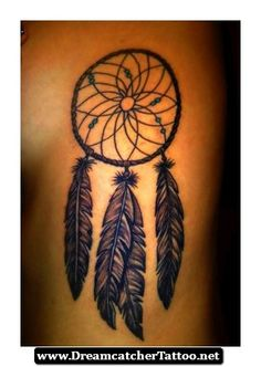 Dreamcatcher Tattoos On The Side 21 - http://dreamcatchertattoo.net/dreamcatcher-tattoos-on-the-side-21/