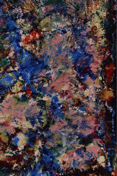 """Serenade To Clyfford Still 3 - F.6898 Circa: 2011 AD  Dimensions: 36"""" (91.4cm) high x 24"""" (61.0cm) wide"""
