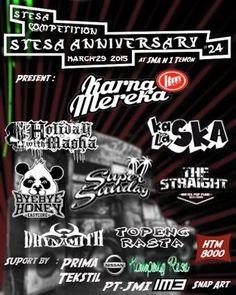 Jadwal Konser Musik Karnamereka Bersama acara Stesa Anniversary 24th Di SMAN N 1 TEMON Watesyogya, event musik Pop/Pop Punk/J-Pop/Progresif, SKA/Reggae/Dub di Watesyogya, Yogyakarta