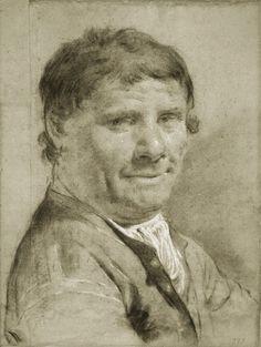 Giovanni Battista Piazzetta  Italian, 1682-1754, Portrait of a Man,c. 1730, Chicago Art Institute