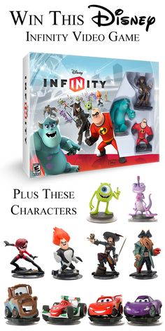 Win this Disney Infinity Video Game Starter Set with 13 characters! #Disney #DisneyInfinity #giveaway