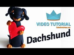 Tutorial – Lovable Dachshund | Cake Dutchess