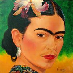 An artist, Frida...