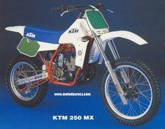 1984 KTM 250 MX