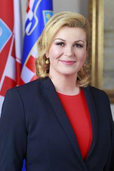 Kolinda Grabar-Kitarovic first female President of Croatia elected in 2015 President Of Croatia, Beautiful Redhead, Beautiful Women, Great Smiles, Bikini, Prom Pictures, Be A Nice Human, Great Women, Belle