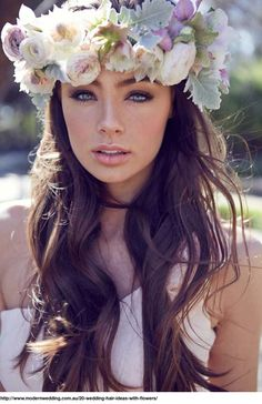 Over the Top Flower Crowns   StyleNoted