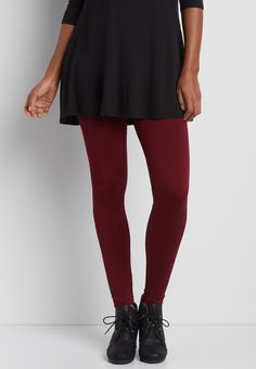 fleece legging in rich merlot red textured diamond print (original price, $20.00) available at #Maurices