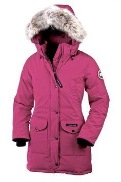 Canada Goose Trillium Parka Women Pink Wtih Top Qality - $309