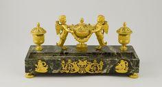 Encrier-plumier et Nécessaire a écrire, 1815-1830 | Musee de la Poste, Paris | Les collections méconnues