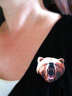 Bear Brooch.