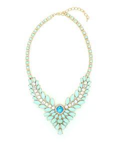 Gold & Seafoam Dagger Necklace | zulily