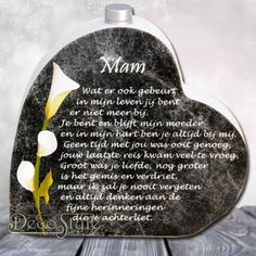 In memoriam hart met asbuisje Ik mis je I Miss My Dad, Still Miss You, Just So You Know, Mother In Heaven, I Love My Mother, First Love, In Memoriam Quotes, Loosing Someone, Condolences Quotes