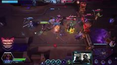 Heroes of the Storm / Nazeebo fighting for more creepy spiders