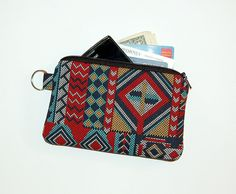 Navajo Patch - iPhone / iPod / Cell Phone / Gadget Zipper Pouch