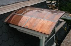 Flat Seam Copper - Blackstone Commercial and Residential Exteriors