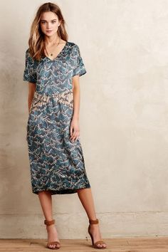 Silk! and pricey! Maak Shift - anthropologie.com