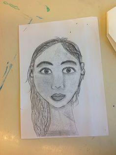zelfportret ((stap 3&4))