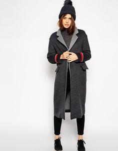 ASOS Coat With Contrast Collar #winter2014