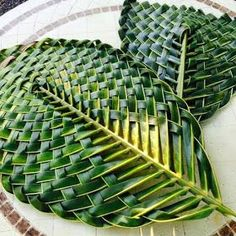 1 million+ Stunning Free Images to Use Anywhere Palm Tree Crafts, Leaf Crafts, Flax Weaving, Basket Weaving, Coconut Leaves, Flax Flowers, Palm Fronds, Deco Floral, Leaf Art