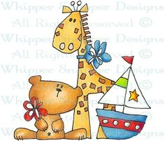 Boy Toys - Baby Images - Baby - Rubber Stamps