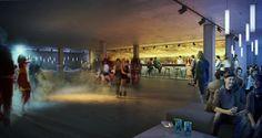 Studio Club by Sebastian Kochel, via Behance