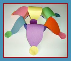 Mardi Gras Jester Hat Craft and Holiday Song from Kiboomu