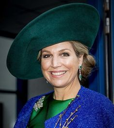 Queen Maxima attends the 2018 Dutch Organic Trade Fair. Jan. 17, 2018