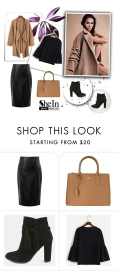 """SheIn 9/III"" by hedija-okanovic ❤ liked on Polyvore featuring Prada and shein"