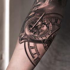 compass tattoo - Google Search