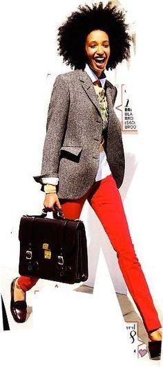 Julia Sarr-Jamois, Fashion Editor, Stylist