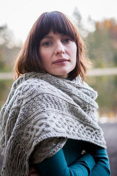 Laura Shawl - Knitting Patterns and Crochet Patterns from KnitPicks.com by Edited by Knit Picks Staff